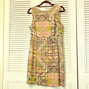 Forever 21 Geometric shapes dress